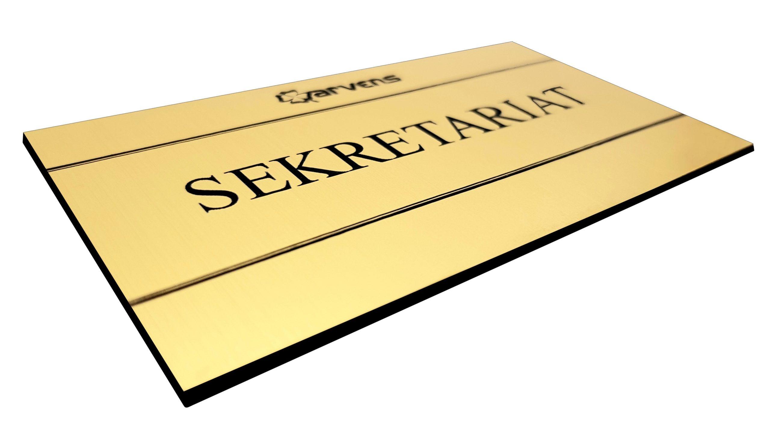 Tabliczka na drzwi sekretariat
