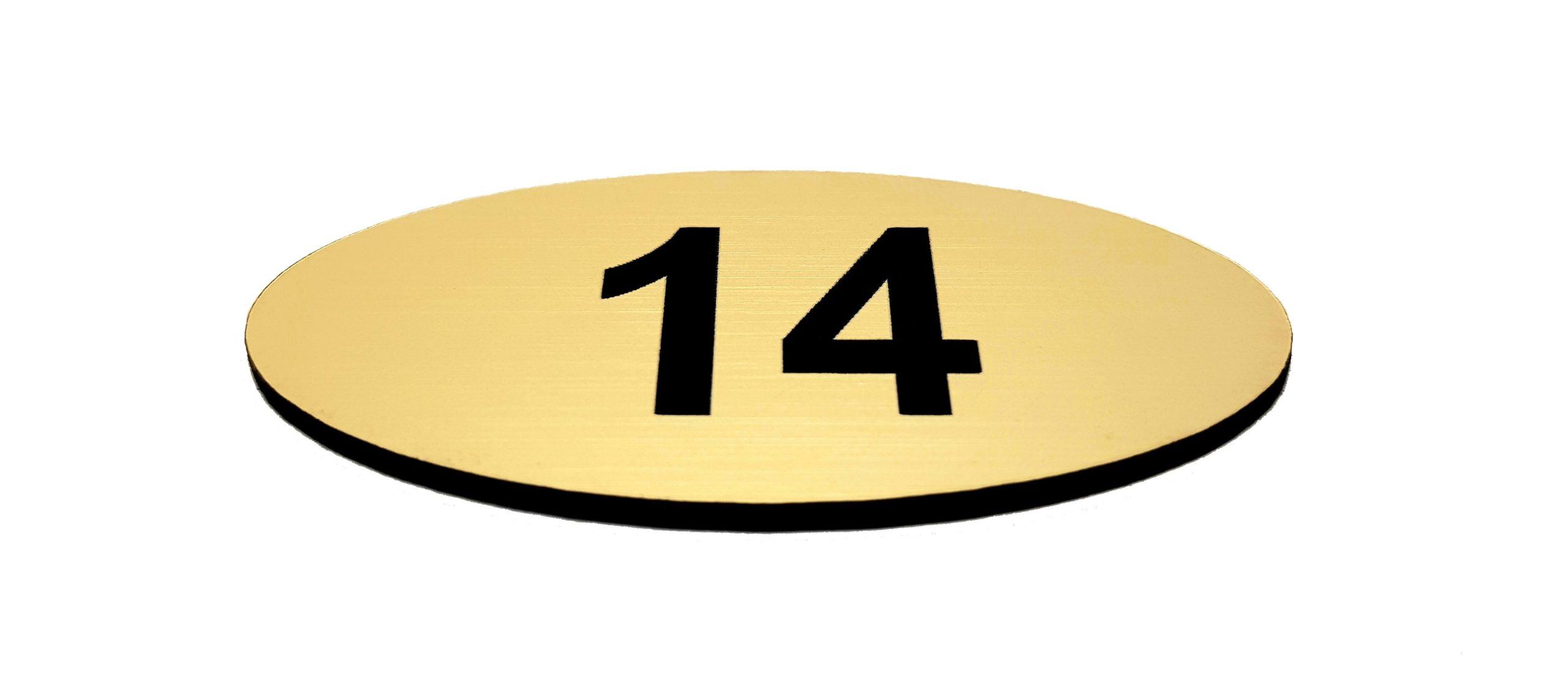 Tabliczka z numerem